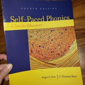 Self-Paced Phonics College Textbook
